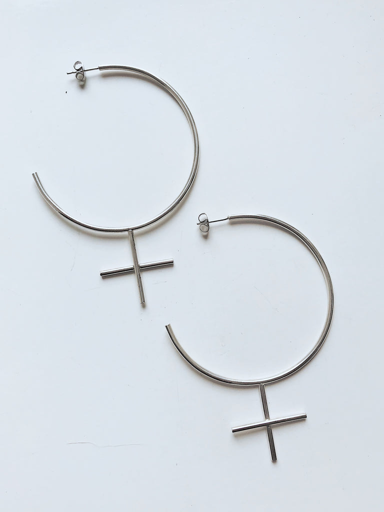 FEMME EARRINGS ECO SILVER / PE68 - Studio183