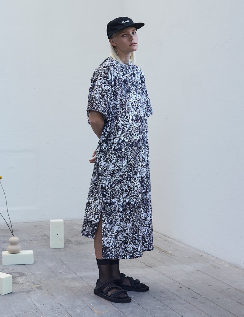 Postmodern camouflage Shirtdress - Studio183