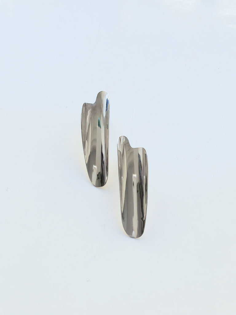 RAZOR SHELL earrings - Studio183