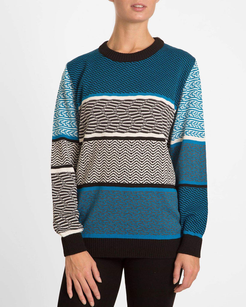 Retro Blue Sweater - Studio183