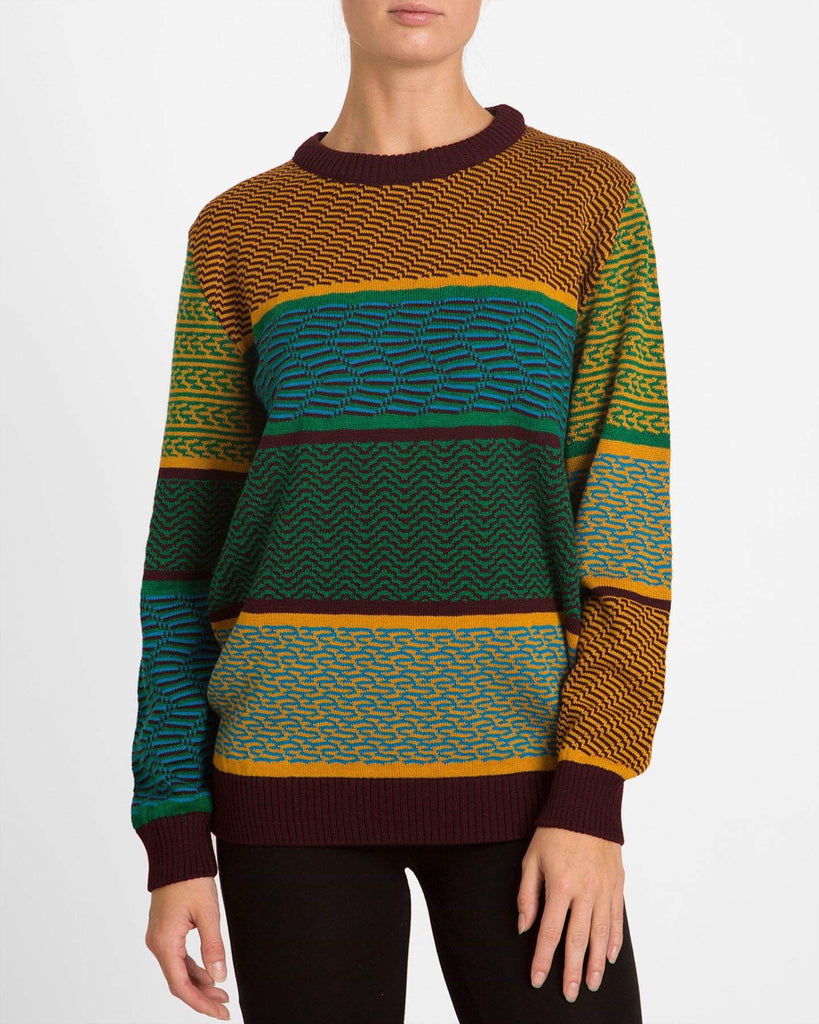 Retro Green Sweater - Studio183
