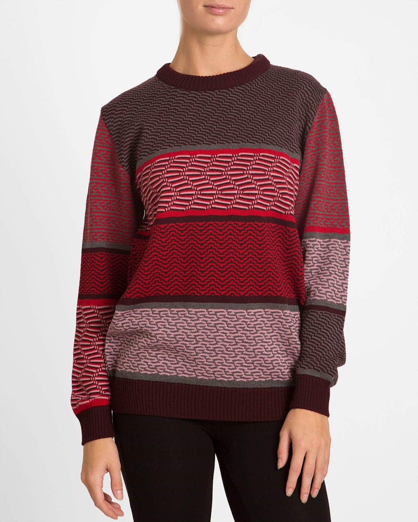 Retro Red Sweater - Studio183