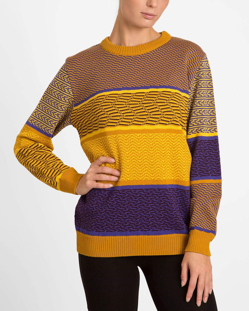 Retro Yellow Sweater - Studio183