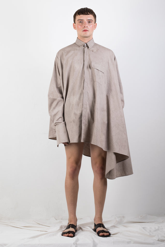 ZERO WASTE NATURALLY DYED SHIRT - Studio183