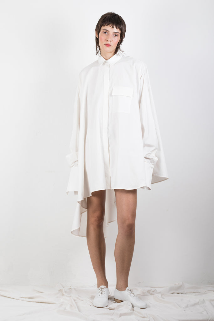 ZERO WASTE WHITE SHIRT - Studio183