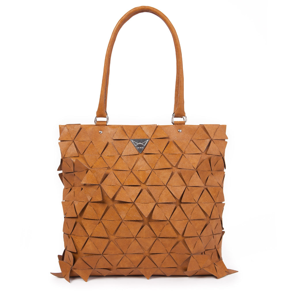 STAR TOTE BAG Alma brown - Studio183
