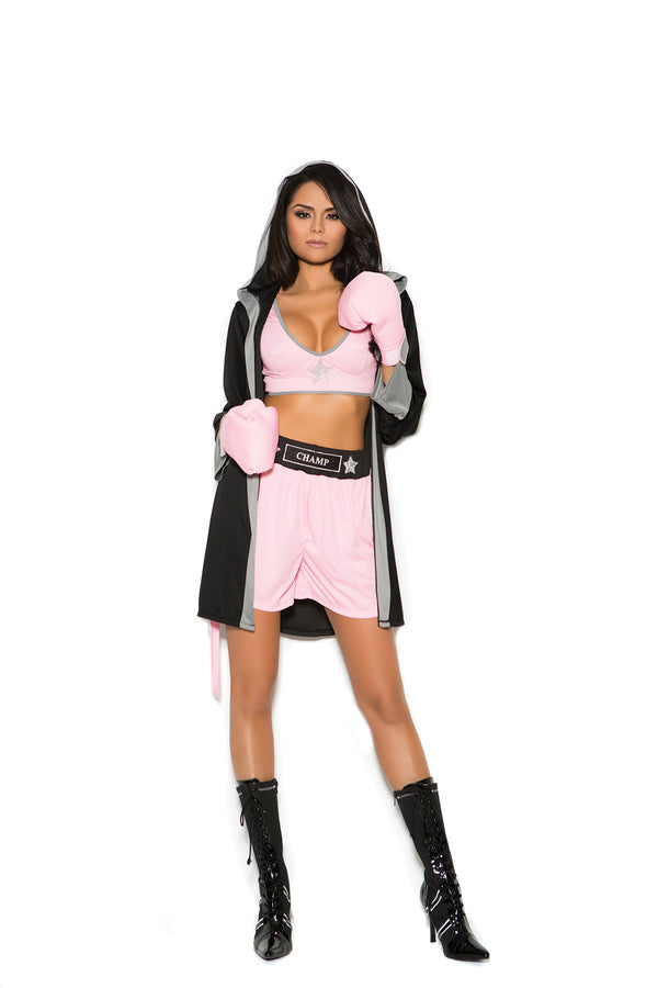 Prizefighter Four Piece Costume - BLACK RABBIT STORE
