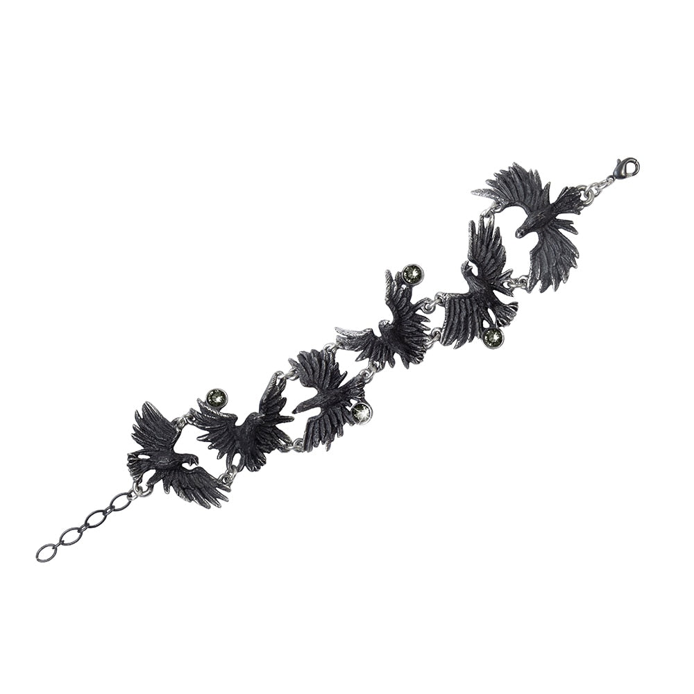 Flocking Ravens Bracelet - BLACK RABBIT STORE