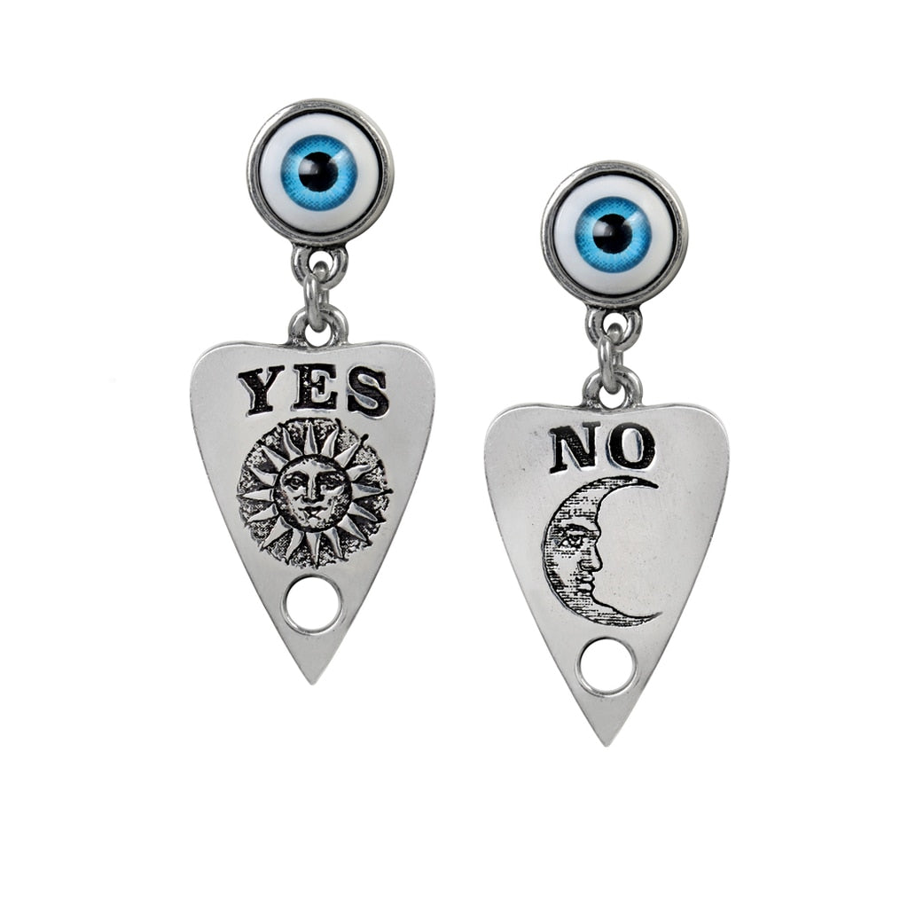 Alchemy Gothic Ouija Planchette Earrings