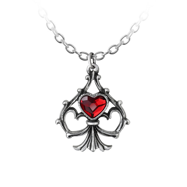 Alchemy Gothic Lucky In Love Pendant - BLACK RABBIT STORE