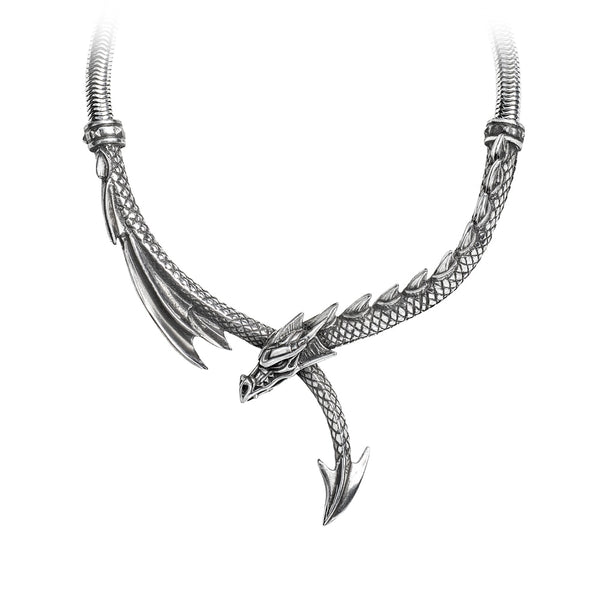 Alchemy Gothic Dragons Lure Necklace