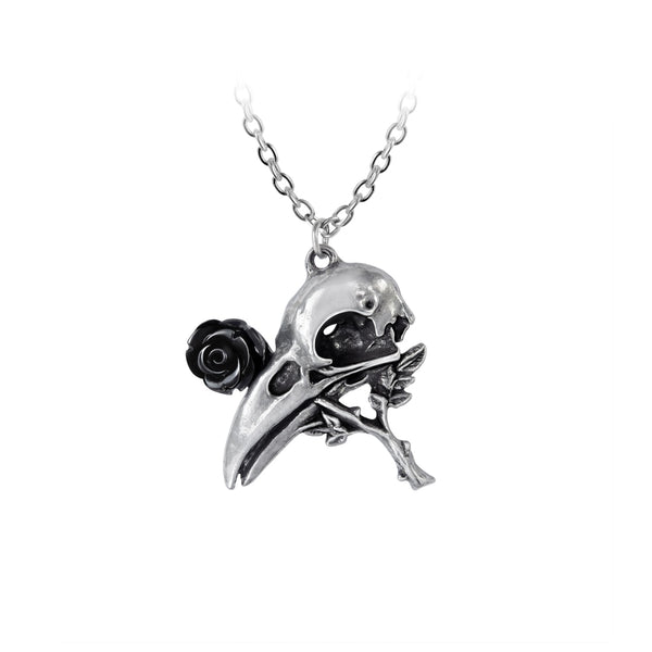 Alchemy Gothic Quietus Rose Pendant