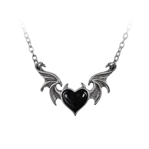 Alchemy Gothic Blacksoul Necklace