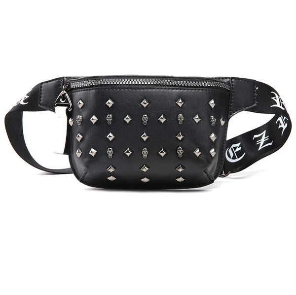 Goth By Birth Waist Bag Fanny Pack - BLACK RABBIT STORE