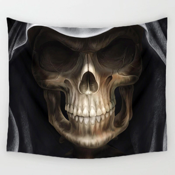 Reaper Skull Wall Hanging - BLACK RABBIT STORE