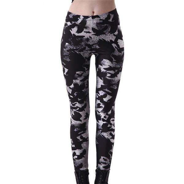 Gothic Raven Women's Workout Leggings