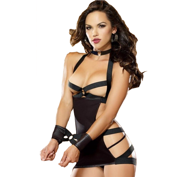 Elise Hot Rope Lingerie - BLACK RABBIT STORE