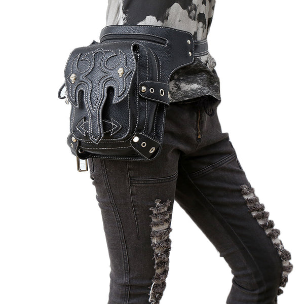 Elegant Steampunks Choice Retro Rock Waist Bag