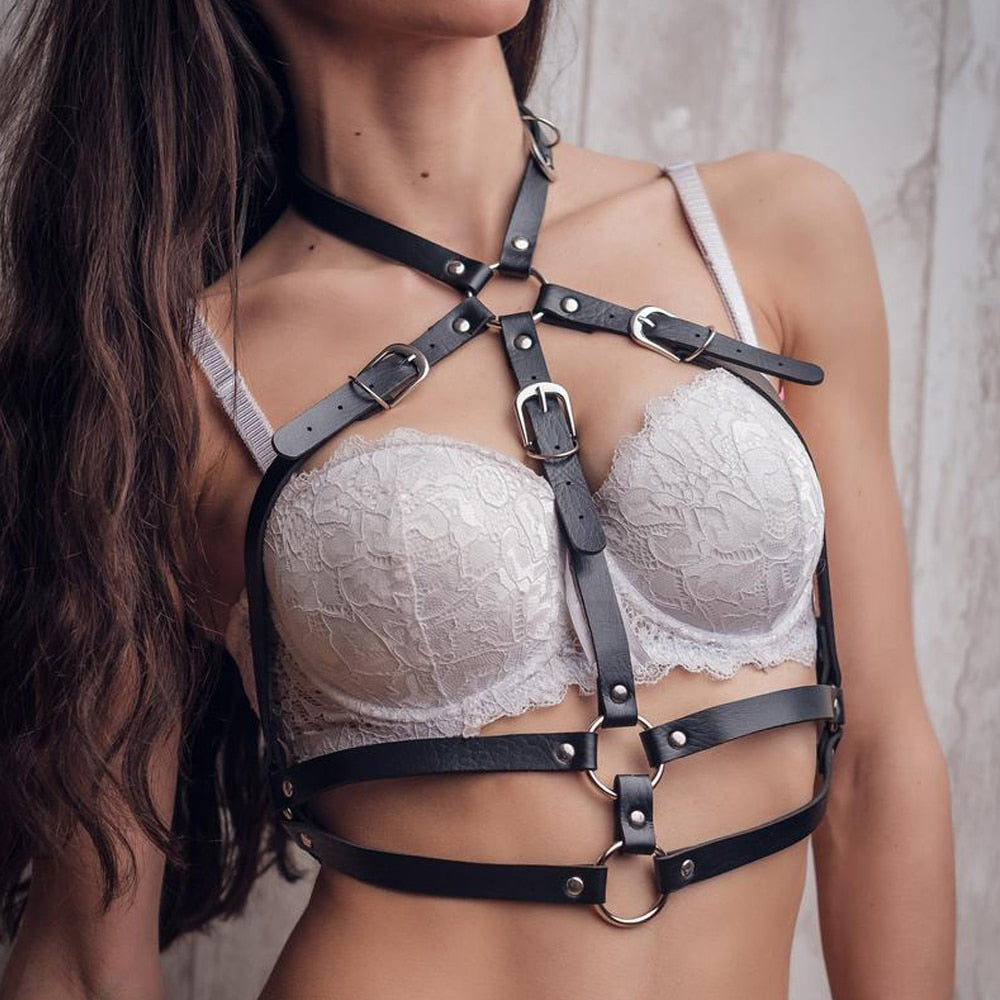 Philomena Handmade Leather Harness