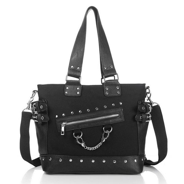 Punk Rock Style Rivet Handbag