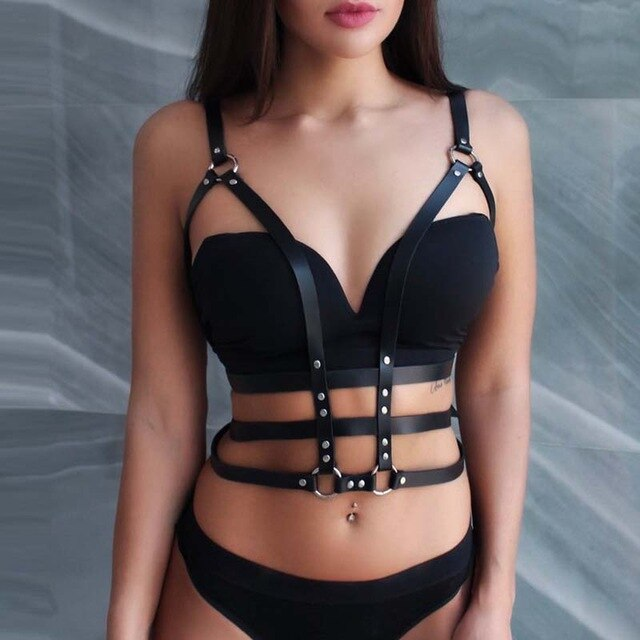 Venus Bondage Goals Leather Harness