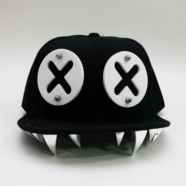 Devil's Grip Gothic Cap - BLACK RABBIT STORE