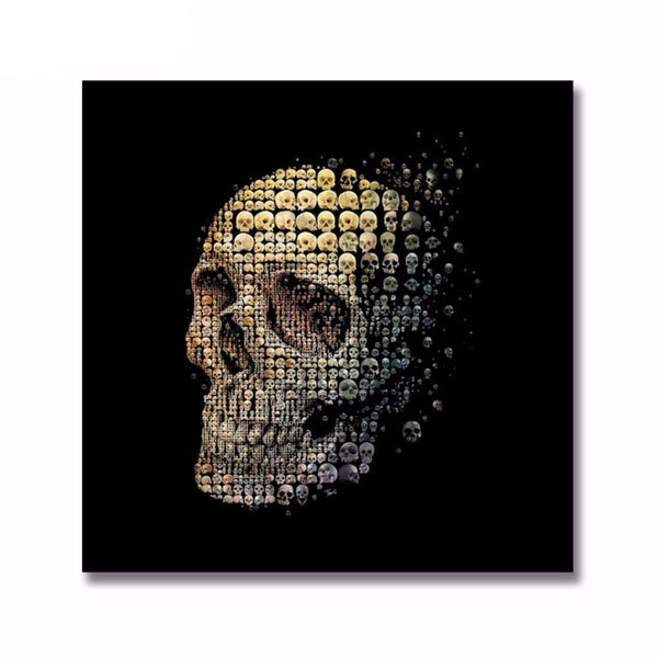 Unique Skulls canvas - BLACK RABBIT STORE