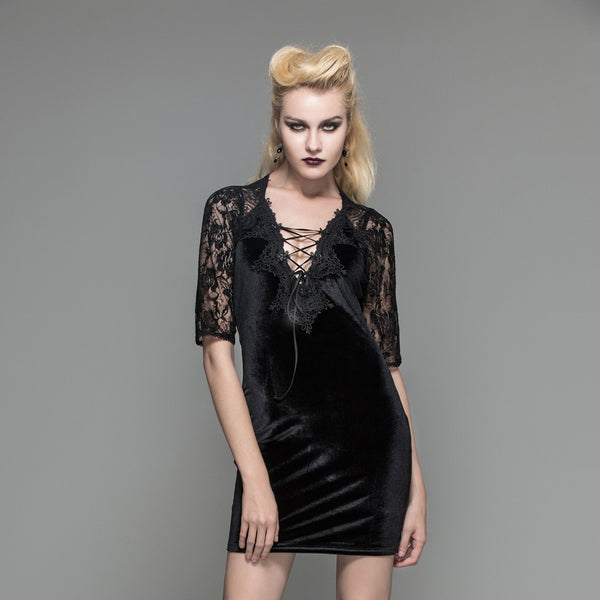 Devil From Within Dress - BLACK RABBIT STORE