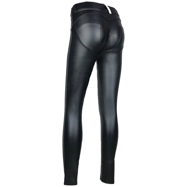 Hot Legs Leather Pants - BLACK RABBIT STORE