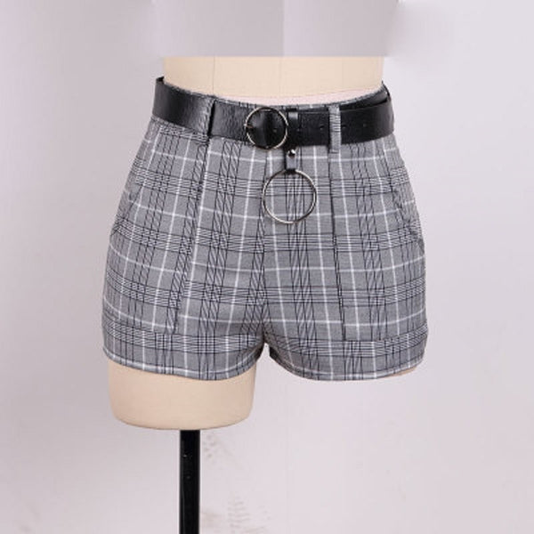 Retro Dynamite Plaid Shorts