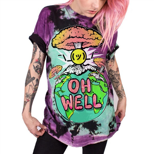 Oh Well T-Shirt - BLACK RABBIT STORE