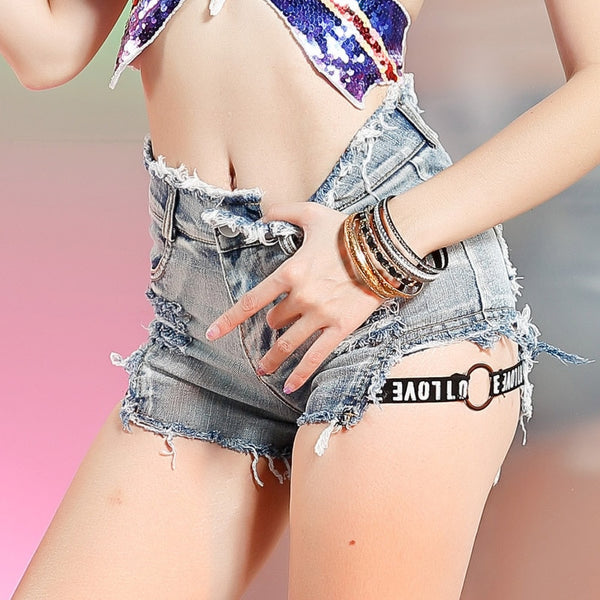 Original Love Denim Shorts - BLACK RABBIT STORE