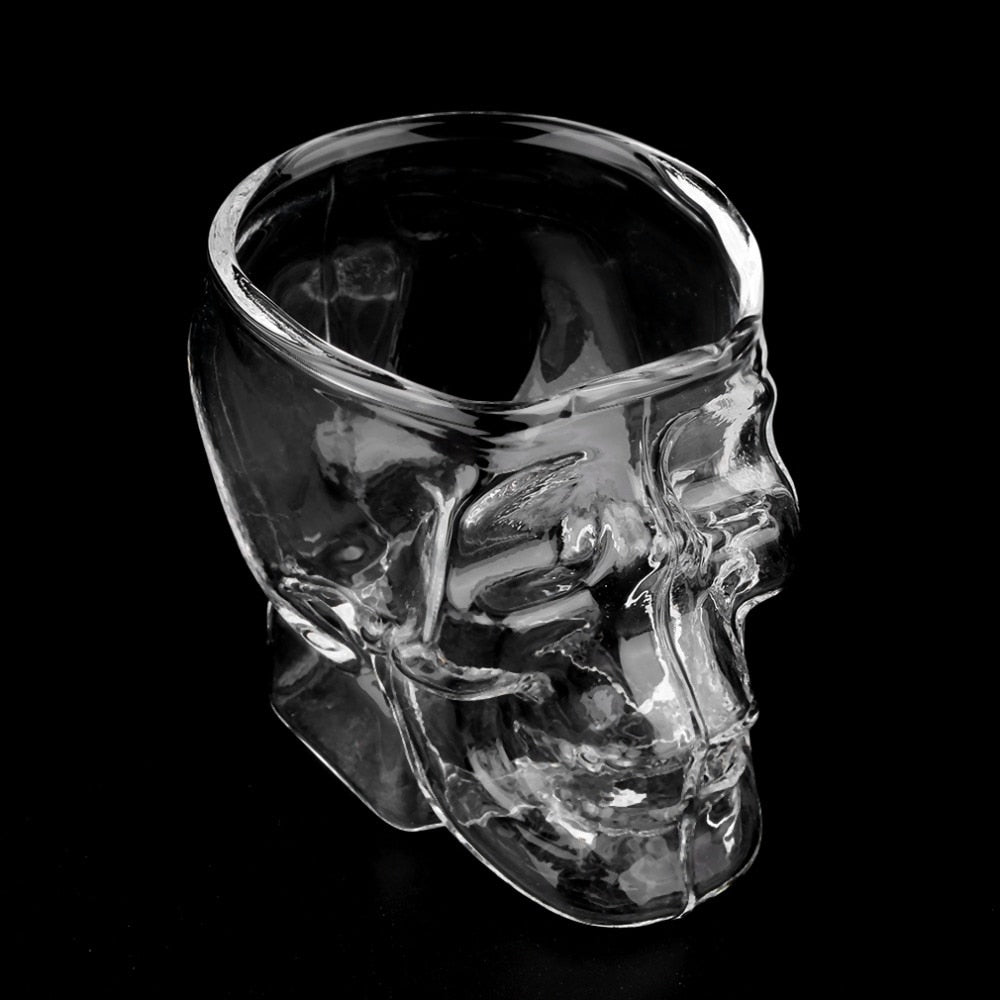 Skull Head Shot Glass (Set of 2) - BLACK RABBIT STORE
