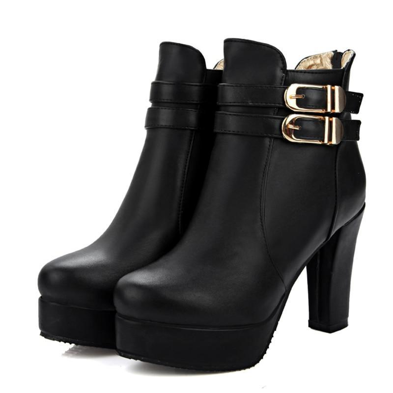 Haunted Gothic Ankle Boots