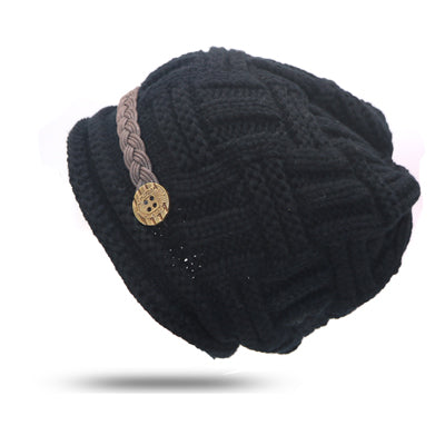 Knitted Jack Bonnet Hat - BLACK RABBIT STORE