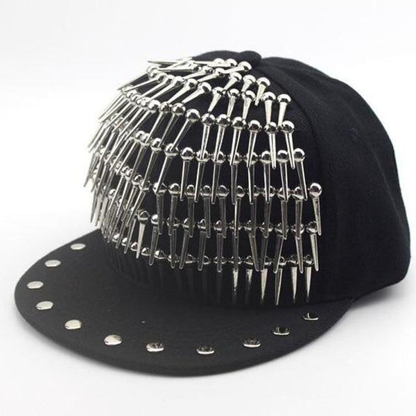 Holy Goth Metal Cap - BLACK RABBIT STORE