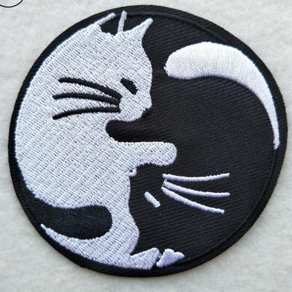 Black Kitty Patch - BLACK RABBIT STORE