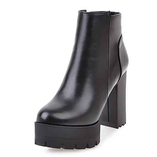 Killer Forever Platform Boots - BLACK RABBIT STORE