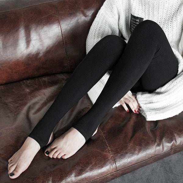 Women's Punk Slim Fitted High-Waisted Leggings - Black Rabbit Store