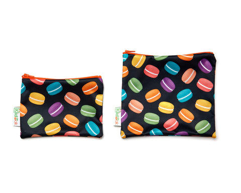 Macaroon Reusable Snack Bag Set