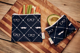 Hombre Reusable Snack Bag Set
