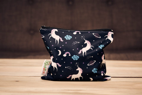 Unicorn Reusable Snack Bag (Made of recycled water bottles)