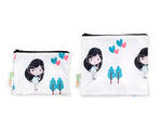Stylish Girl Snack Bag Set