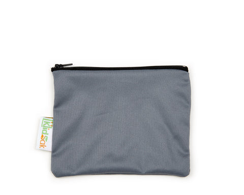 Grey Reusable Snack Bag