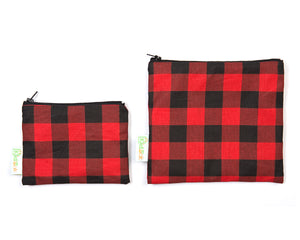 Plaid Double Layer Set