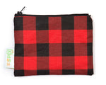 Plaid Reusable Snack Bag