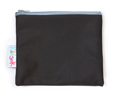 Black Reusable Snack Bag