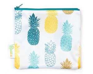 Pineapple Reusable Snack Bag
