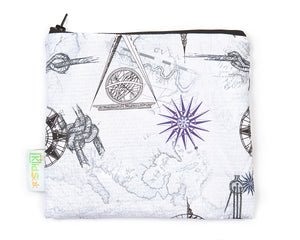 Geographic Reusable Snack Bag