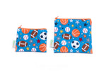 Sports Reusable Snack Bag Set